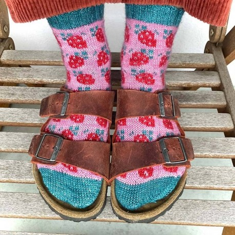 Berry Special Socks Stone Knits