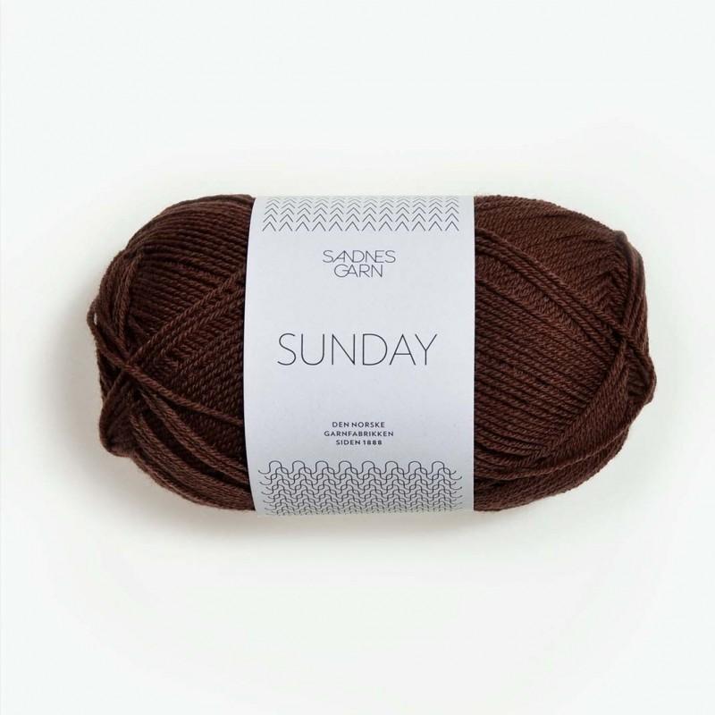 Sandnes Sunday Mork Brun 3072