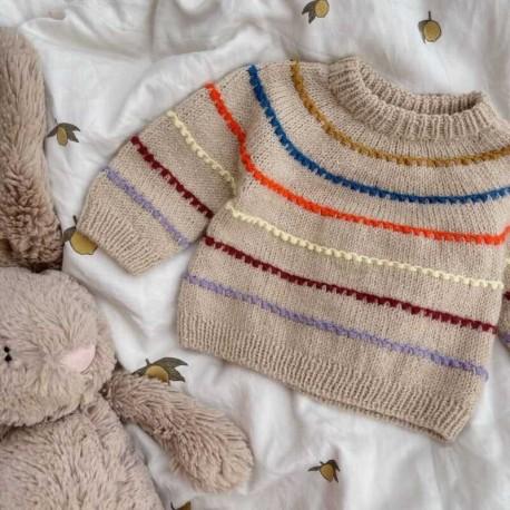 Festival Sweater Baby PetiteKnit Strickset