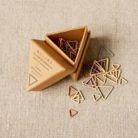 Cocoknits Triangle Stitch Markers Maschenmarkierer