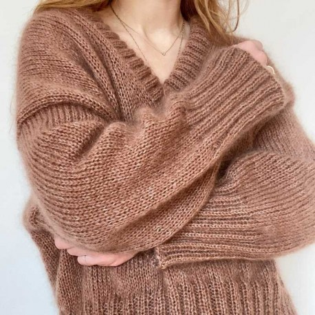 My Favourite Things Knitwear Sweater No 14 V-Neck
