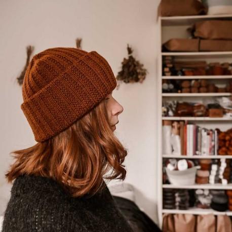 Rust Knitwear Erna Beanie Strickset