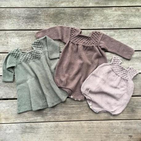 Knitting for Olive - Roxy Romper und Dress Kit