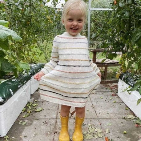 Petite Knit - Festival Kleid Strickset