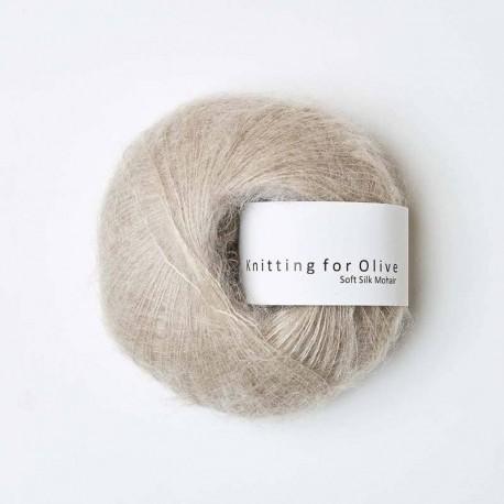 Knitting for Olive Soft Silk Mohair Oat
