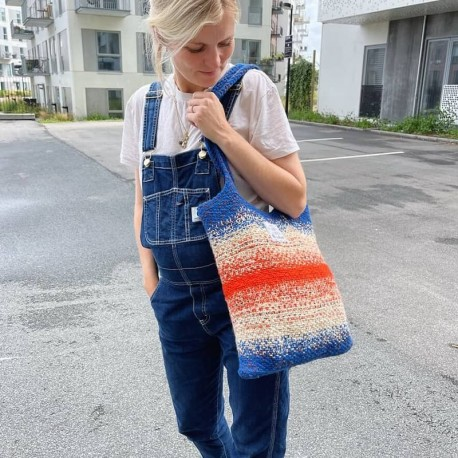 PetiteKnit Technicolor Tote Bag Strickkit