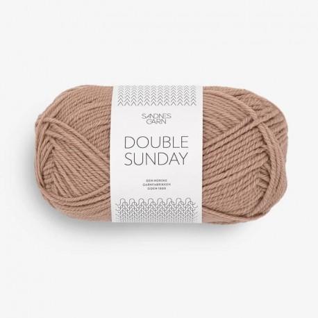 Sandnes Double Sunday Lys Nougat 3041