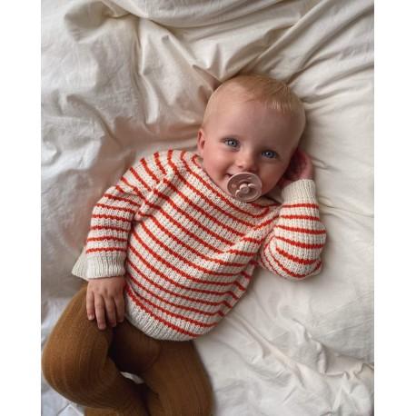 PetiteKnit - Friday Sweater Baby