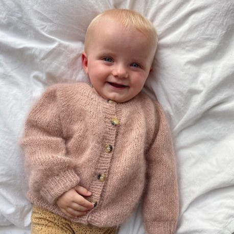 PetiteKnit - Novice Cardigan Mini Mohair