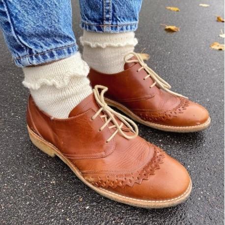 PetiteKnit - Ruffle Socks [Wollpaket]