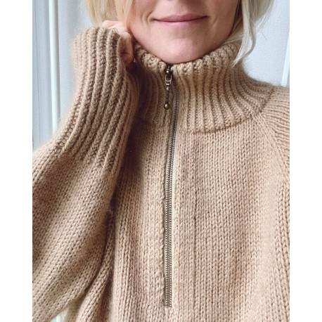 PetiteKnit Zipper Sweater