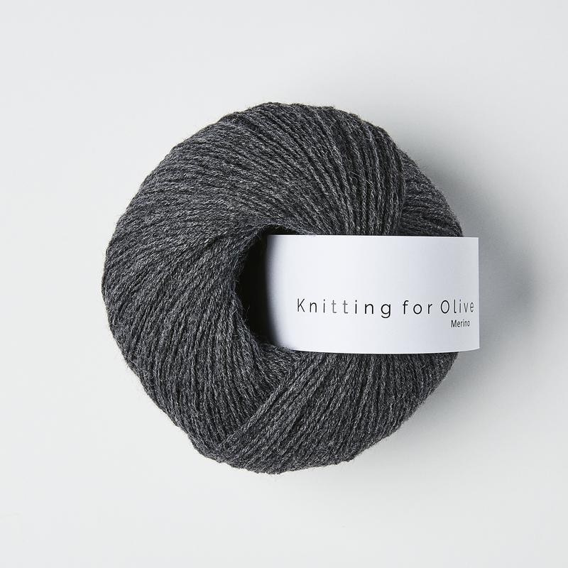 Knitting for Olive Merino Slate Gray