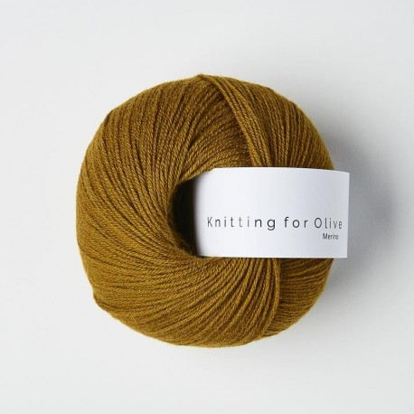 Knitting for Olive Merino Dark Ocher