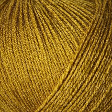 Knitting for Olive Merino Mustard Detail