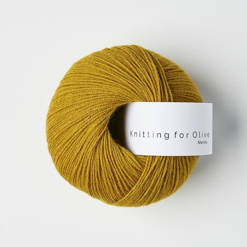Knitting for Olive Merino Mustard