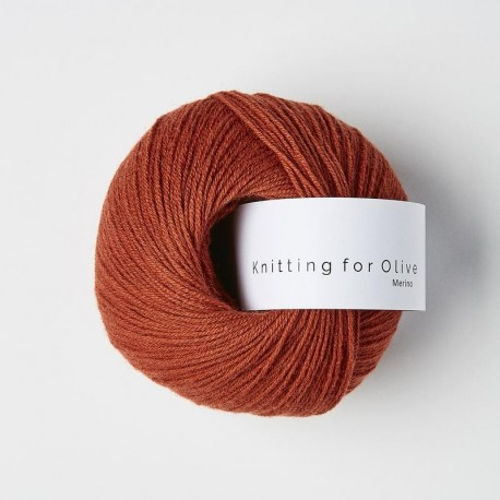 Knitting for Olive Merino Robin