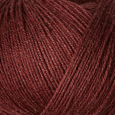 Knitting for Olive Merino Claret Detail