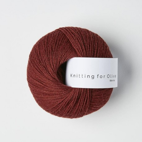 Knitting for Olive Merino Claret
