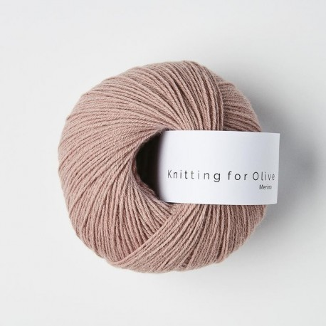 Knitting for Olive Merino Dusty Rose