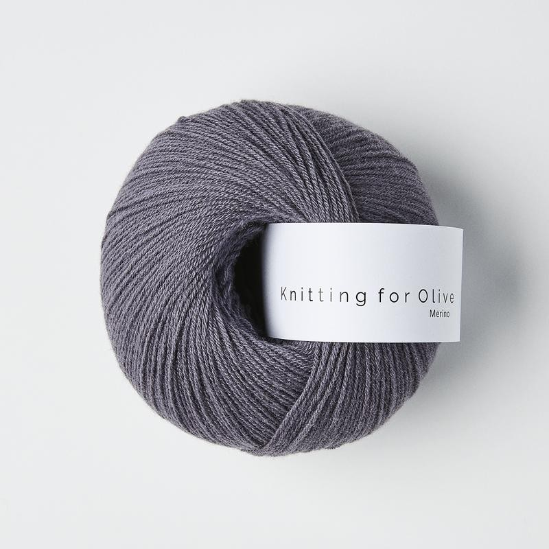 Knitting for Olive Merino Dusty Violette