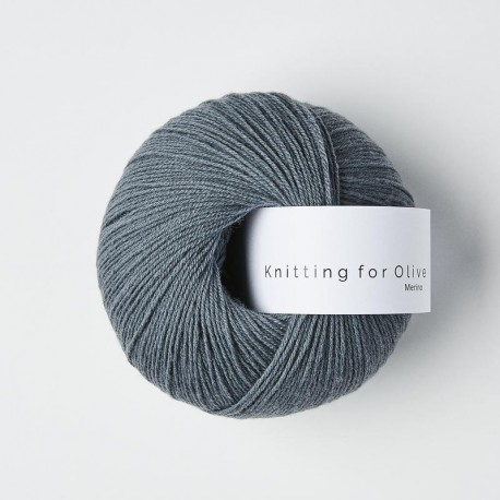 Knitting for Olive Merino Dusty Petroleum Blue