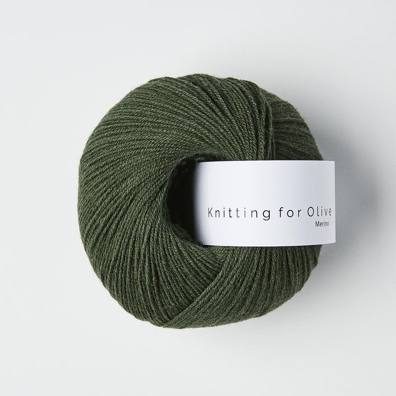 Knitting for Olive Merino Bottle Green