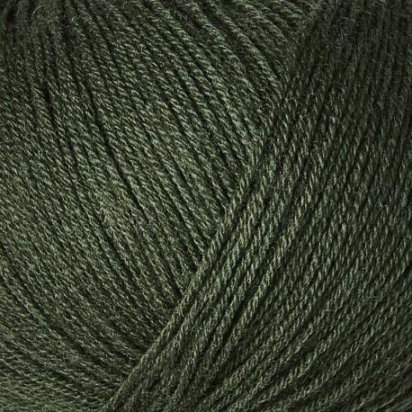 Knitting for Olive Merino Bottle Green Detail