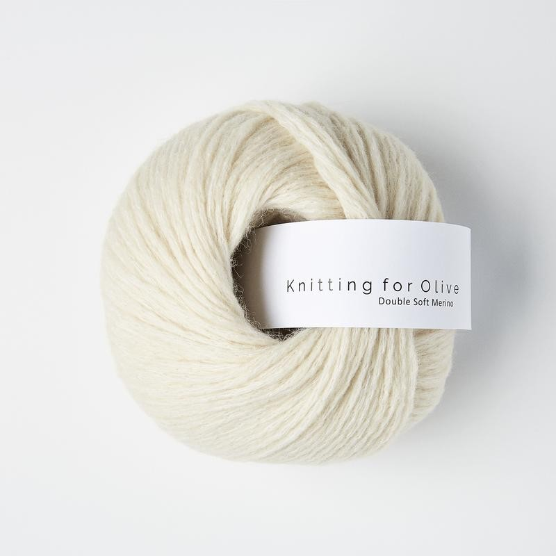 Knitting for Olive Double Soft Merino White Lamb