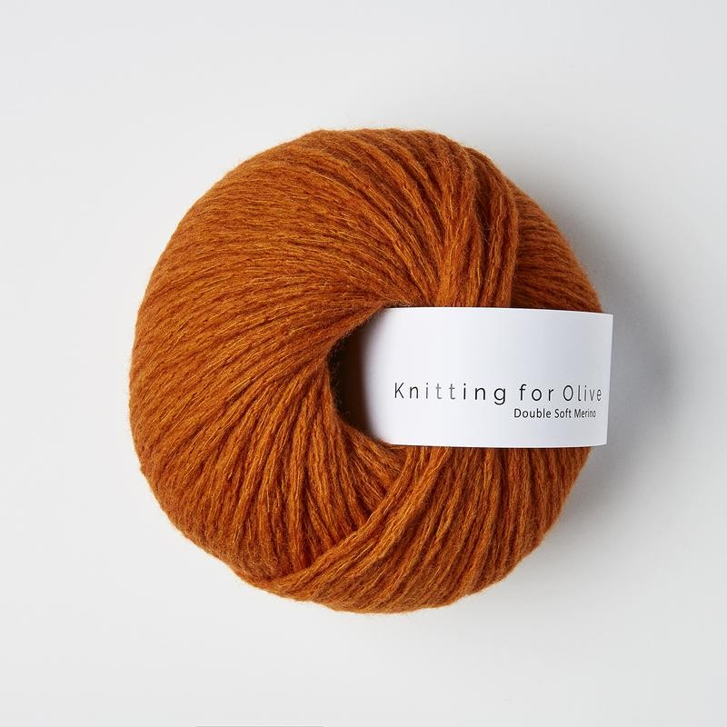 Knitting for Olive Double Soft Merino Burnt Orange