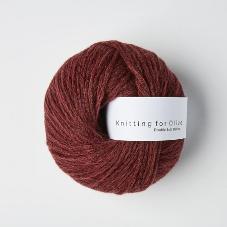 Knitting for Olive Double Soft Merino Claret