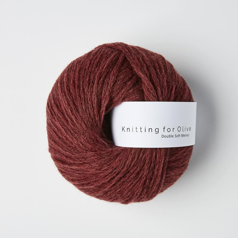 Knitting for Olive Double Soft Merino Claret