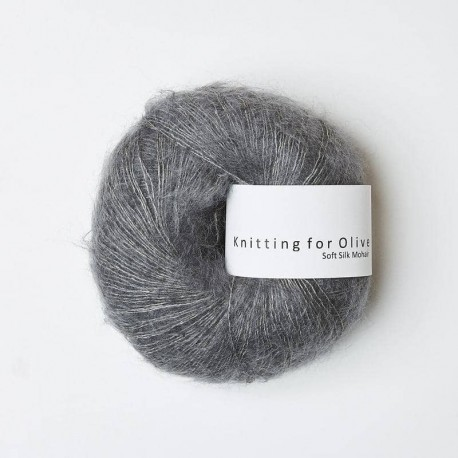 Knitting for Olive Soft Silk Mohair Lead