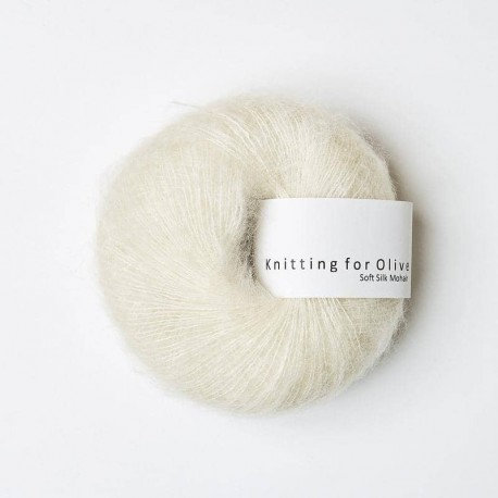Knitting for Olive Soft Silk Mohair Off-white