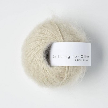 Knitting for Olive Soft Silk Mohair Marcipan