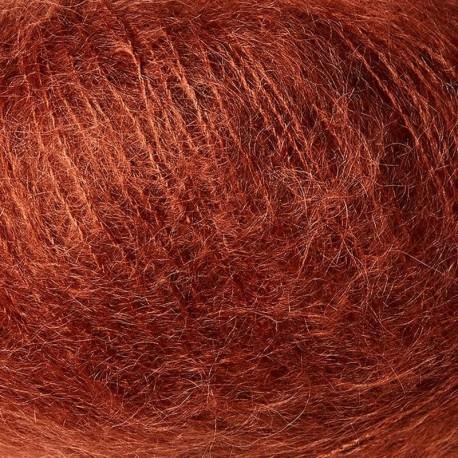 Knitting for Olive Soft Silk Mohair Dusty Robin Detail