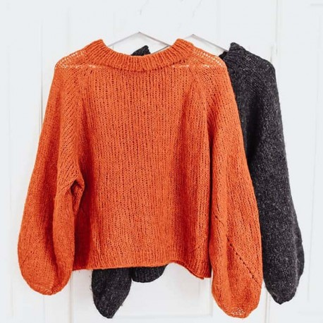 Rust Knitwear Cloud Nine Sweater