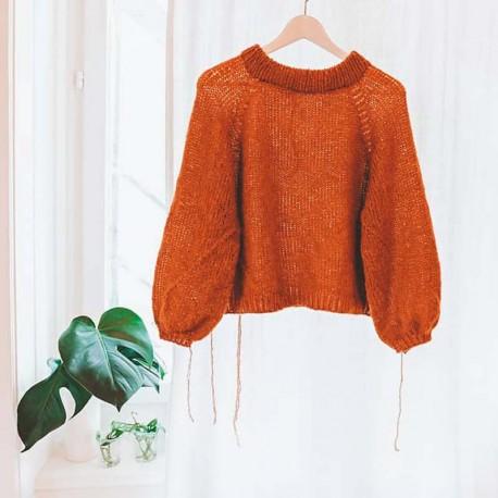 Rust Knitwear Cloud Nine Sweater