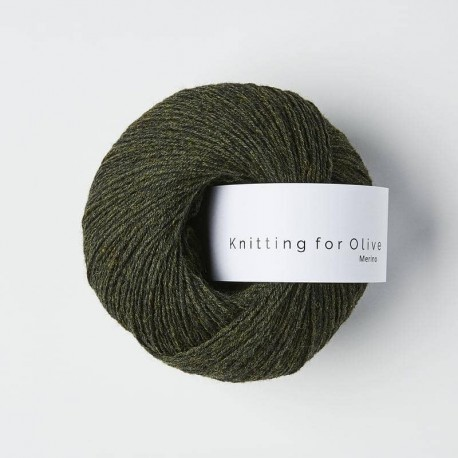 Knitting for Olive Slate Green