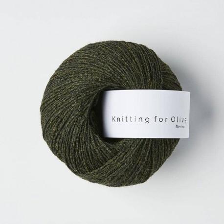 Knitting for Olive Slate Green
