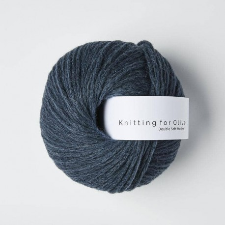 Knitting for Olive Double Soft Merino Deep Petroleum Blue