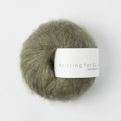 Knitting for Olive Soft Silk Mohair Dusty Olive