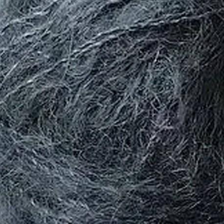 Knitting for Olive Soft Silk Mohair Deep Petroleum Blue Detail
