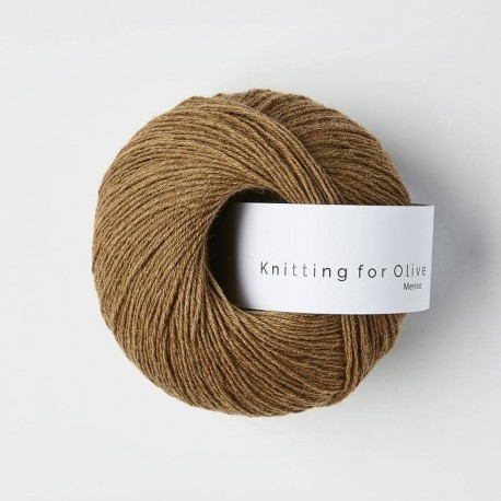 Knitting for Olive Merino Nut Brown