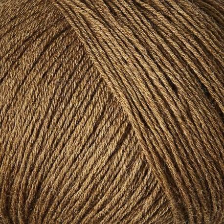 Knitting for Olive Merino Nut Brown Detail