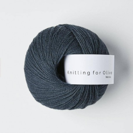 Knitting for Olive Merino Deep Petroleum Blue