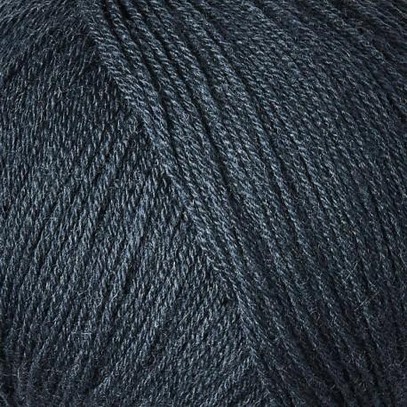 Knitting for Olive Merino Deep Petroleum Blue Detail
