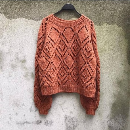 Clotilde Sweater Knitting for Olive