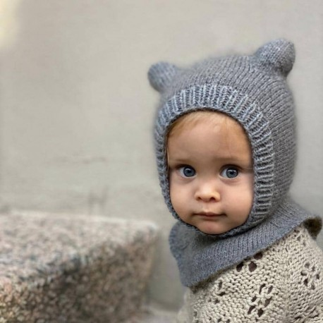 Baby Bear Balaclava Knitting for Olive