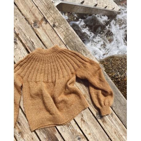 PetiteKnit Sunday Sweater Mohair Edition
