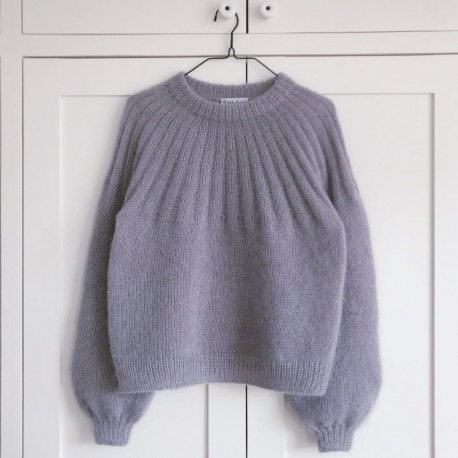 PetiteKnit Sunday Sweater Mohair Edition